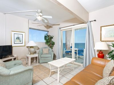 Inverness 500 - Beachfront Condo, Gorgeous Gulf of Mexico Views from Private Balcony, Pool & Hot Tub