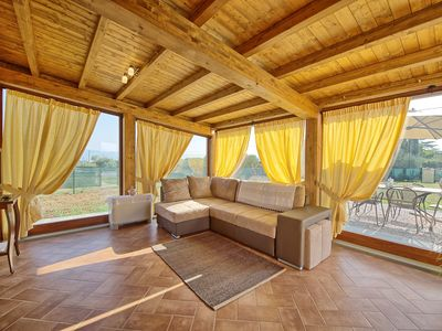 Photo for 3 bedroom Villa, sleeps 6 in Borgonuovo with Pool, Air Con and WiFi