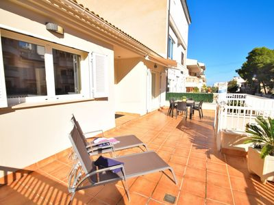 Photo for Ca n'Amer - Villa near the sea situated in a residentialt area