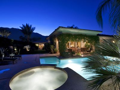 Photo for Exceptional Palm Springs Spanish Style Vacation Estate
