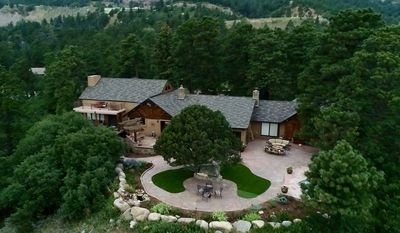 Photo for Historical Resort Home located on 8 acres above the city of Colorado Springs