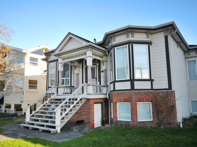 Photo for Oceanside Suite in James Bay - 5 Minute Walk to Shopping - 1km to Inner harbour