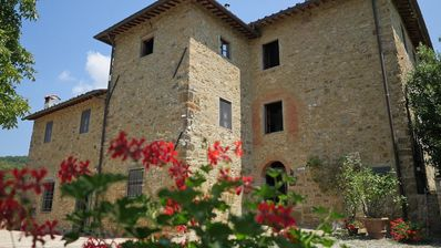 Photo for Chianti villa for holiday with private swimming pool near Greve in Chianti