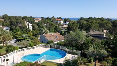 Photo for SAINT-RAPHAEL FRENCH RIVIERA Large F2 for 5p Swimming Pool In Calm Sea View All on foot