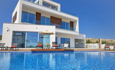 Photo for R 928 Zeus Luxury Villa with Butler Service, BBQ Area & Jacuzzi - Breakfast Inc