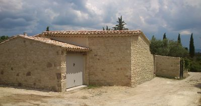 Photo for BEDOIN-Mont Ventoux - NICE HOUSE WITH POOL 'LES OLIVIERS 3'
