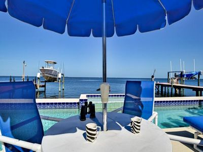Photo for GULF COAST HEAVEN WITH PRIVATE CHARTER BOAT, 80FT LAP POOL AND WIFI