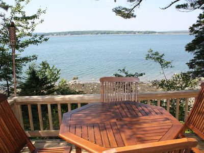 Photo for ROMANTIC, OCEANFRONT COTTAGE FOR 2, MINUTES FROM ACADIA NATL PARK!