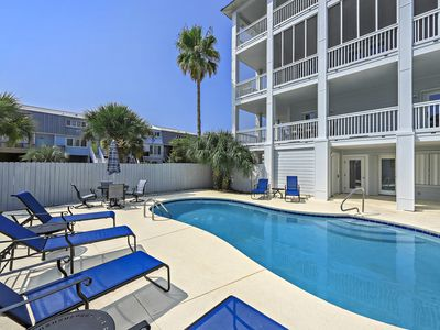 Photo for 215 Garfield by Royal Destinations -Gulf View and Private Saltwater Pool