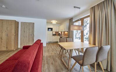 Photo for modern apartment on 4 * level for 2-4 persons, directly on the ski slope
