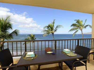 Photo for Stunning Views 1 Bdrm Beach Front Condo-Starting@$180/night -Sugar Beach #PH23
