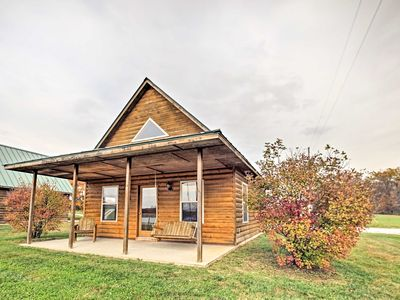 Photo for 1BR Cabin Vacation Rental in Columbia, Missouri