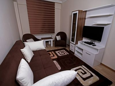 Photo for Daily Rental Flat Vazo 1 in Kutahya. It can be rented on a daily or weekly basis.