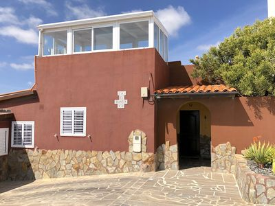 "Photo for Quiet house CASA FRONTÃ""N South Tenerife with pool.          pool"