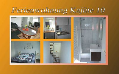 Photo for Holiday Kajüte10 - Apartments - Wikert - Property 50848