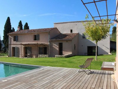 Photo for Landhouse for 17 P. in Le Castellet, Var, private pool, beaches 6 mls