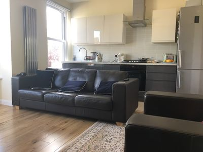 Photo for Luxury apartment, 2 double bedrooms, free parking