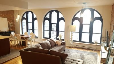 Photo for Beautiful condo in the heart of Old(port) Montreal