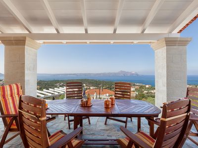 Photo for Villa Mosaico - Luxury Villa with outstanding views to the sea and private pool