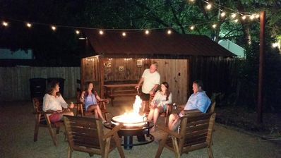 Photo for FUN SUMMER  GETAWAY! Awesome location! Backyard firepit. Great place to relax!