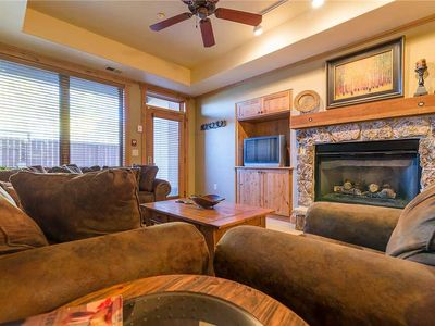 Photo for Private Courtyard with Hot Tub, Fire Pit & BBQ! Perfect for Ski Getaway!AL4110