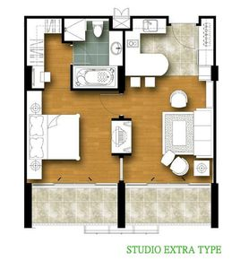 Photo for One-bedroom extra (701)
