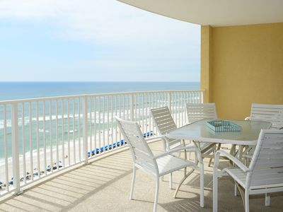 Photo for BEAUTIFUL GULF FRONT*NEW FURNITURE*HUGE  BALCONY *BEST VIEWS*WIFI*POOL*MEMORIES*