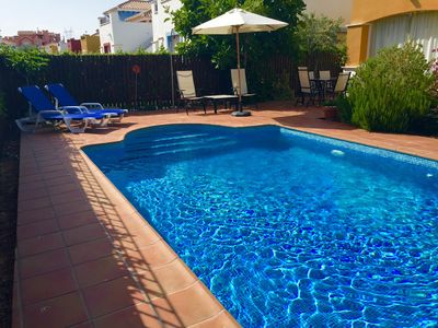 Photo for Villa With South Facing Private Pool And Lovely Terrace/garden Area