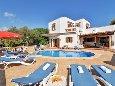 Photo for CALA D'OR VILLA - 5 Bedrooms, Private Pool, Air Con, WiFi, BBQ