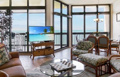 Photo for Sandpiper #1209: Beachfront 3 Bedroom 2.5 Bathroom With Spectacular Views and 24 Hour Management