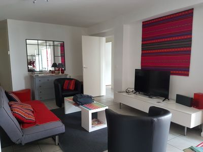 Photo for Saint Jean de Luz Ciboure, beautiful apartment T4calme and very well located tt on foot
