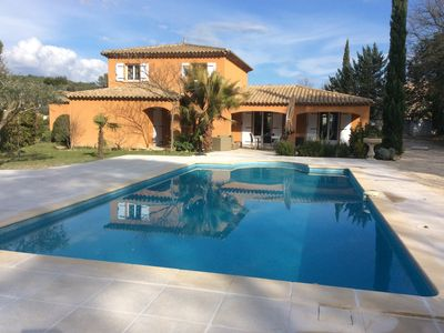 Photo for Superb villa very pleasant 2500 m2, magical location near center Lorgues
