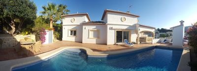 Photo for Luxury, classy, modern 3 bed Villa, walking distance beach & town, large pool
