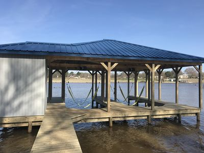 New Boat dock, should be ready with power by April 1st, 2018.
