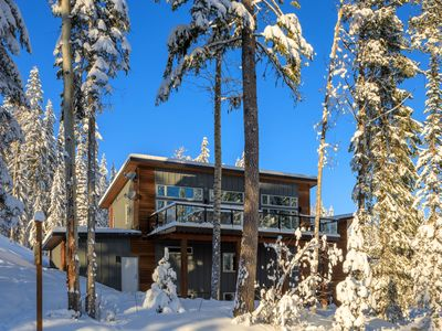 Photo for SKI-IN/SKI-OUT. Just built, 4 bedroom, 3.5 bathroom modern Town home, sleeps 12