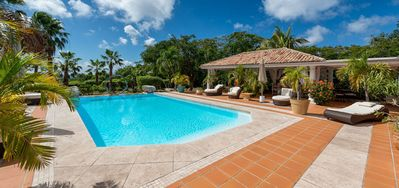 Villa La Pinta  -  Near Ocean - Located in  Tropical Terres Basses with Private Pool