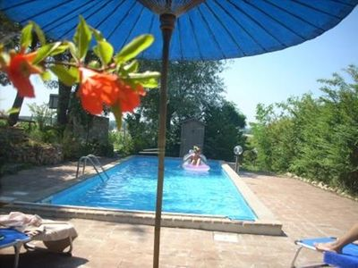 Photo for Farmhouse and swimming pool sleeps 8