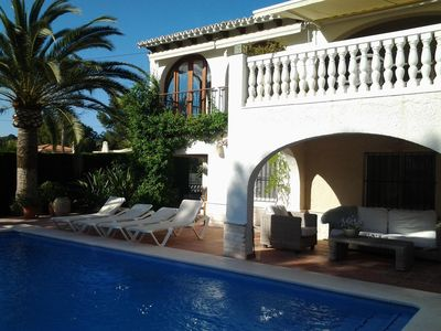 Photo for Very close to beach / sea and the center of Moraira, Free Wifi