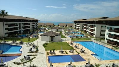 Photo for Flat for 6 people ground front pool by the sea Cupe Porto de Galinhas
