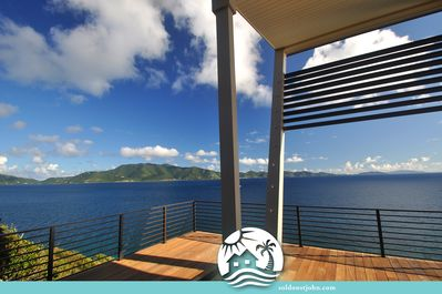 Unobstructed views from your private pool deck