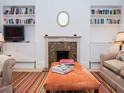 Photo for Charming Bright & Light 2BD Garden Flat in Fulham - Two Bedroom Apartment, Sleeps 5