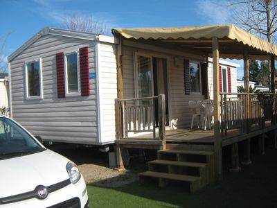 Photo for SUPER MOBIL HOME ON LARGE PLOT