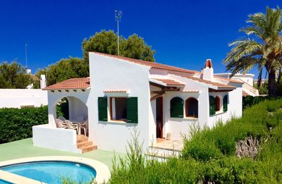 Photo for Traditional holidayhouse in a prime location of Cala Blanca/Ciutadella with pool