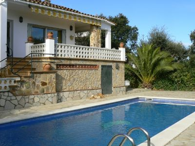 Photo for Costa Brava. House with private pool in Pals, 225