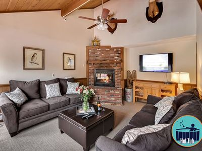 Photo for Large 6 bedroom home with private hot tub in the heart of Killington
