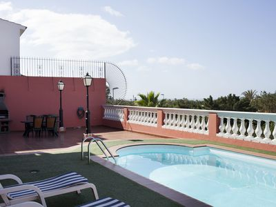 Photo for Maspalomas Villa with private pool Air conditioning and WIFI