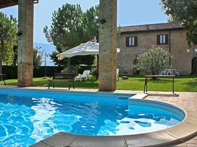 Photo for Villa Rosa, with Jacuzzi tub and private pool