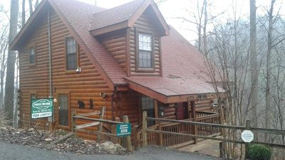 Amazing 2 Bedroom Log Cabin Pigeon Forge Parkway & DollyWood Minutes Away -  Pigeon Forge