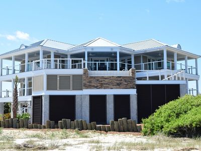 Photo for Panoramic Ocean Views, Private Salt Water Invinity Pool, Covered Creek and Floating Dock and So Much More!