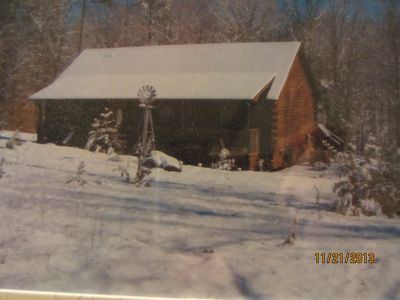 Photo for Log Home 15 miles from Tryon International Equestrian Center